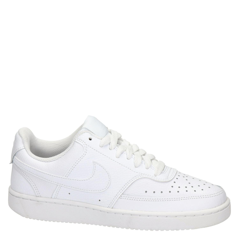 De confianza soporte violencia  Nike Court vision low - Lage sneakers voor dames - Wit - Nelson.nl