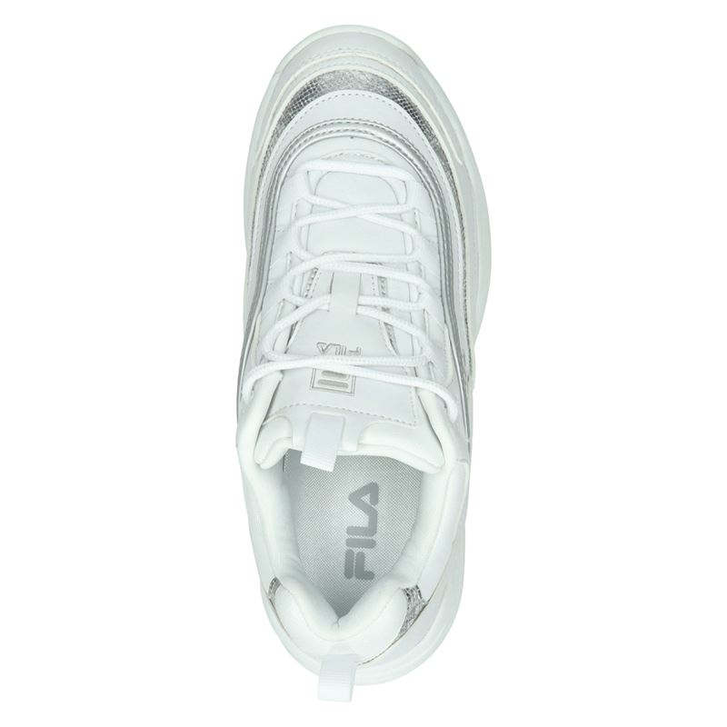 Fila Ray F - Dad Sneakers - Zilver