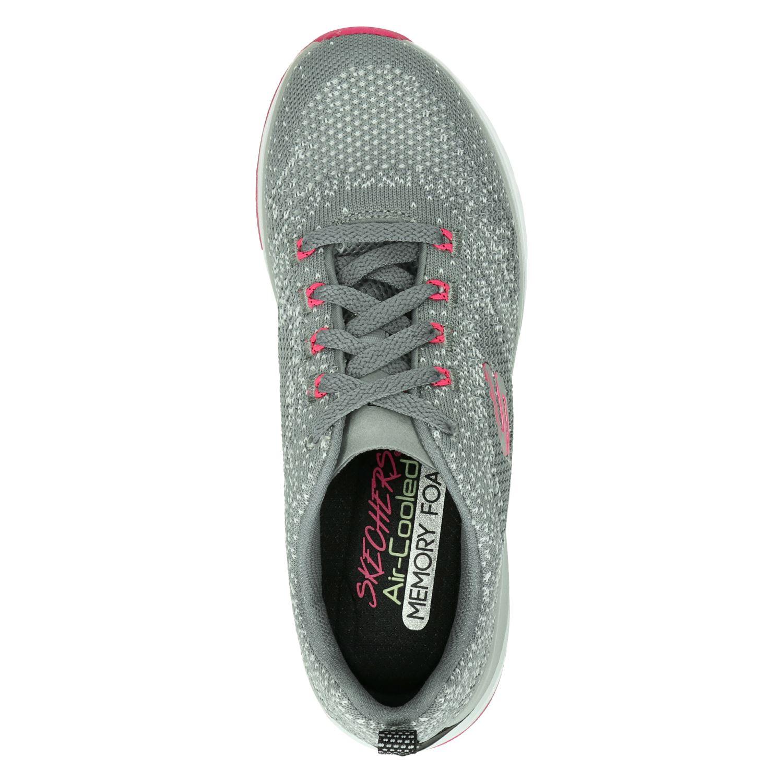 Skechers Sneaker Laag Dames Air Cooled Memory Foam Grijs | 39