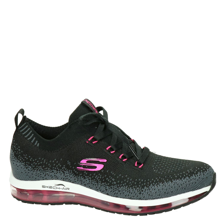 Skechers - Lage sneakers voor dames - Zwart aEyKlCX