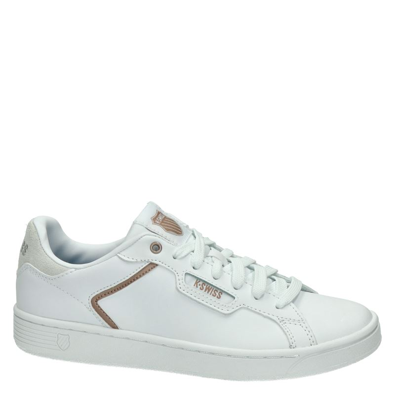 K-Swiss Clean Court - Lage sneakers - Wit