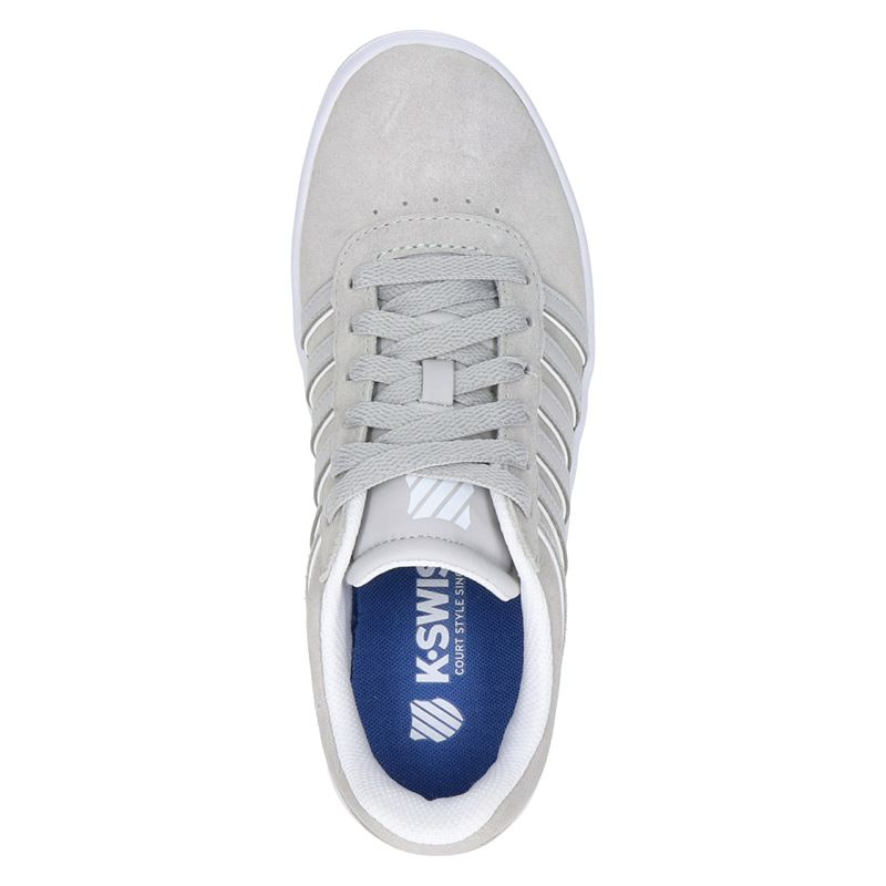 K-Swiss Court Cheswick - Lage sneakers - Grijs