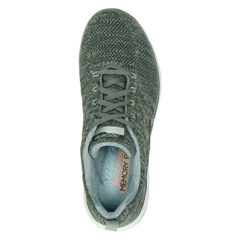 Skechers Flex Appeal 3.0 - Lage sneakers - Groen