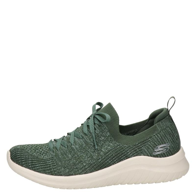Skechers Ultra Flex 2.0 - Lage sneakers - Groen