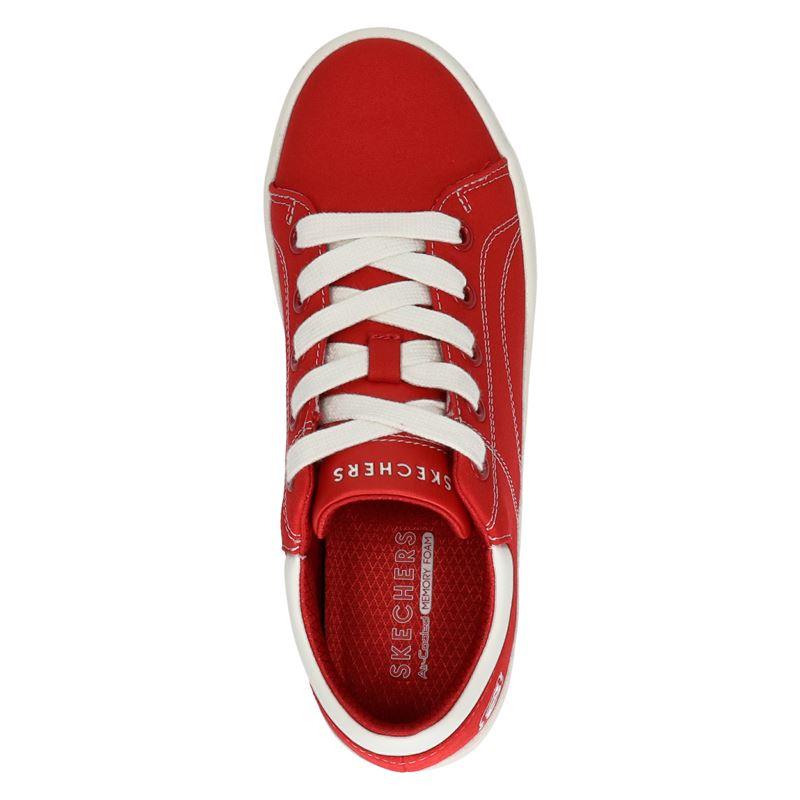 Skechers Heritage - Lage sneakers - Rood