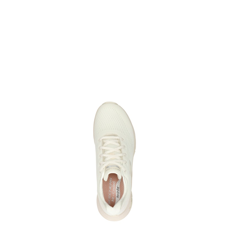 Skechers Arch Fit - Lage sneakers - Ecru