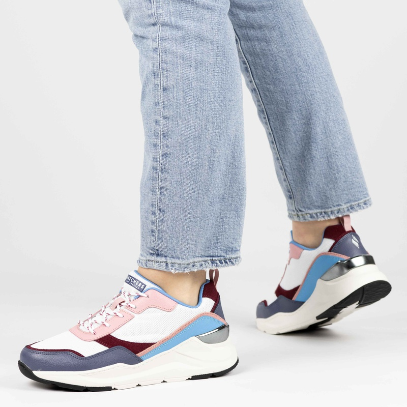 Skechers - Dad Sneakers - Wit