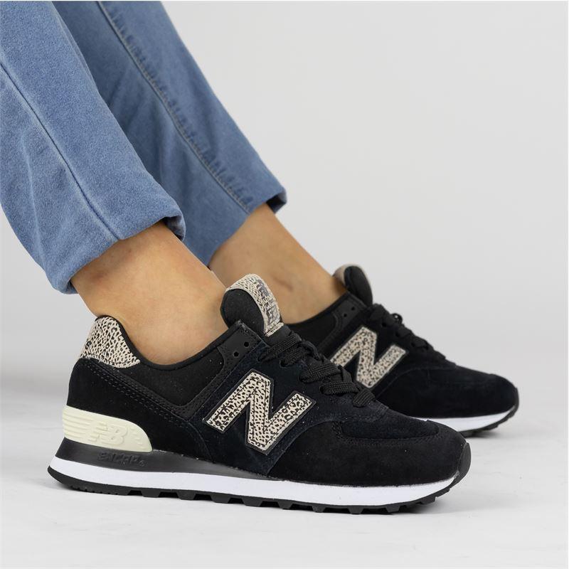 New Balance 574 - Lage sneakers - Zwart