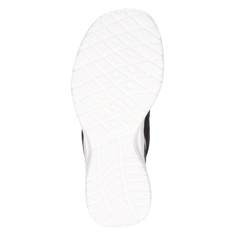 Skechers D Lux walker - Instapschoenen - Zwart