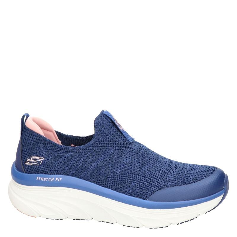 Skechers D Lux walker - Instapschoenen - Blauw