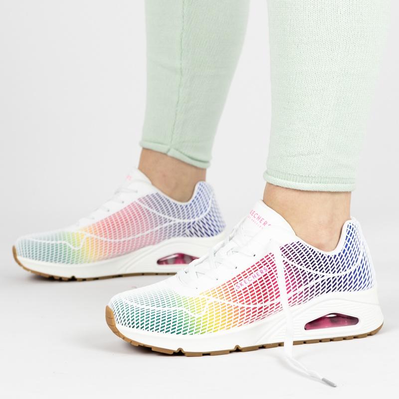 Skechers Street Uno - Lage sneakers - Wit