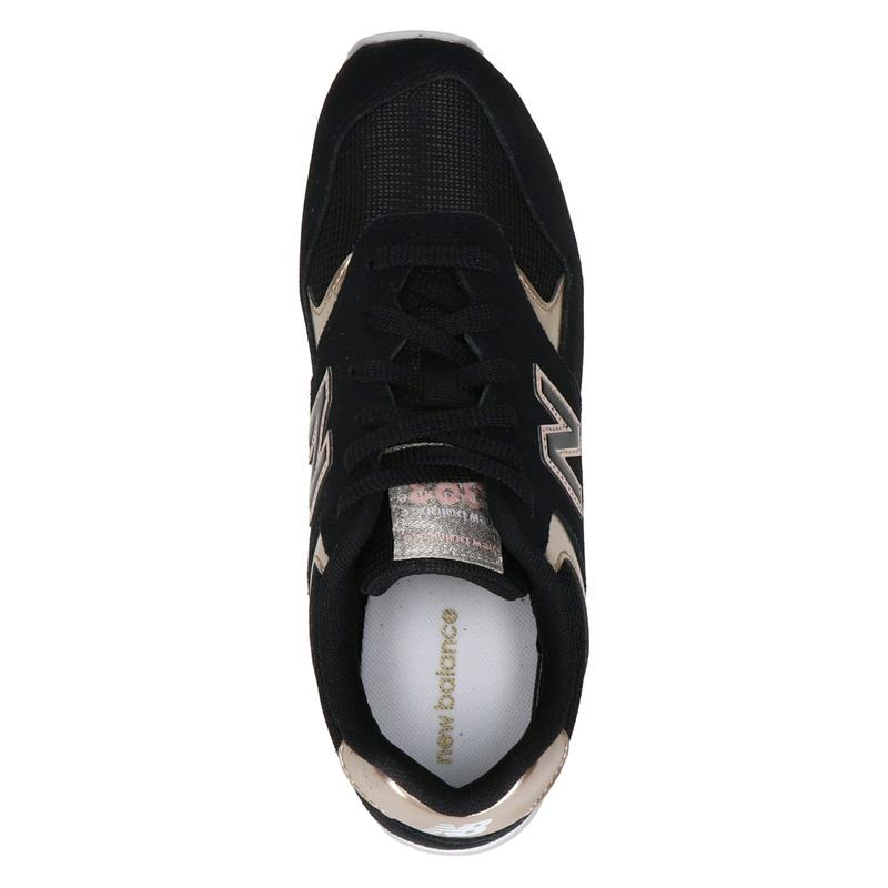 New Balance 393 - Lage sneakers - Zwart