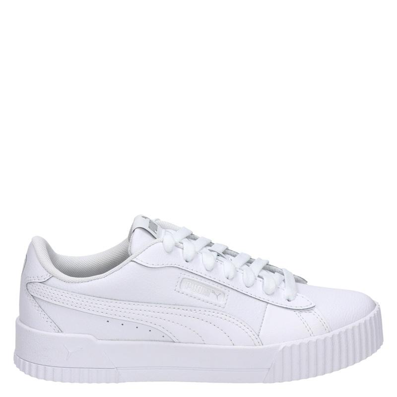 Puma Carina Crew - Lage sneakers - Wit