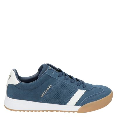 Skechers Heritage Zinger 2.0 The White Stripe - Lage sneakers - Blauw
