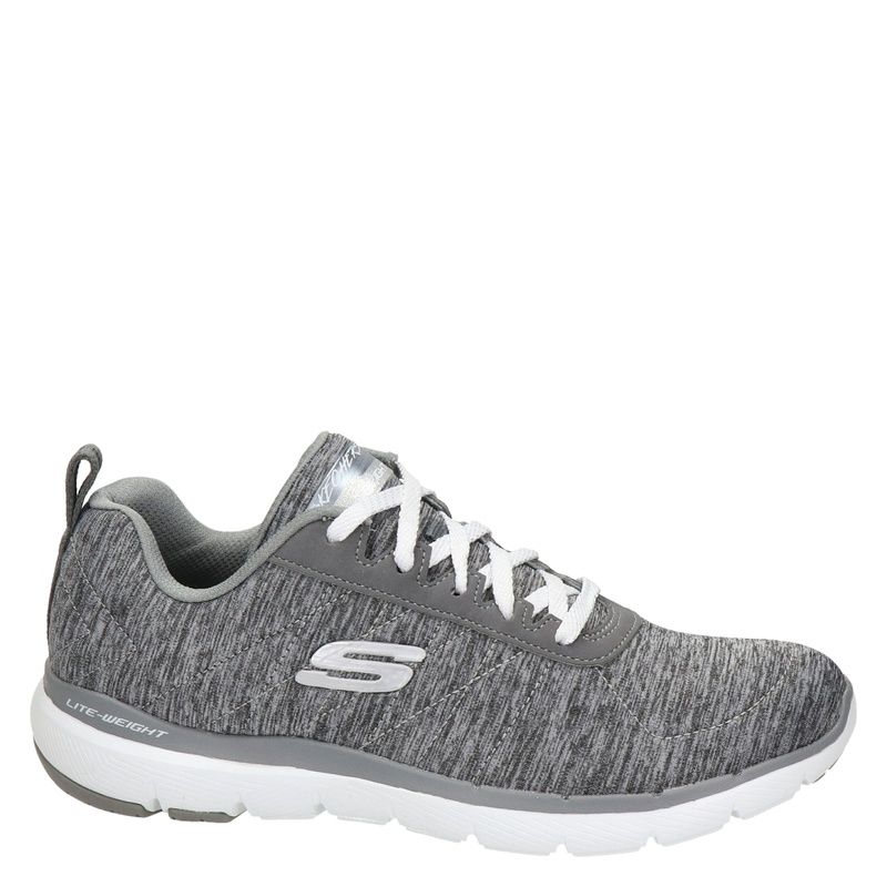 Skechers Flex appeal 3.0 - Lage sneakers - Grijs