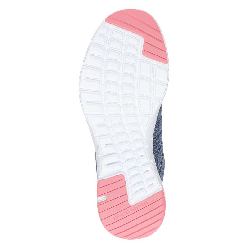 Skechers Flex appeal 3.0 - Lage sneakers - Blauw