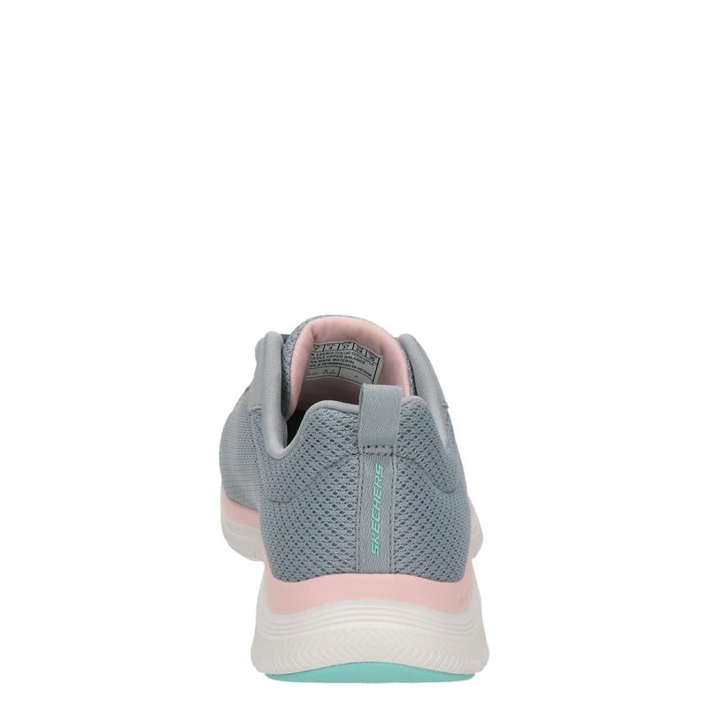 Skechers Flex Appeal 4.0 - Lage sneakers - Grijs
