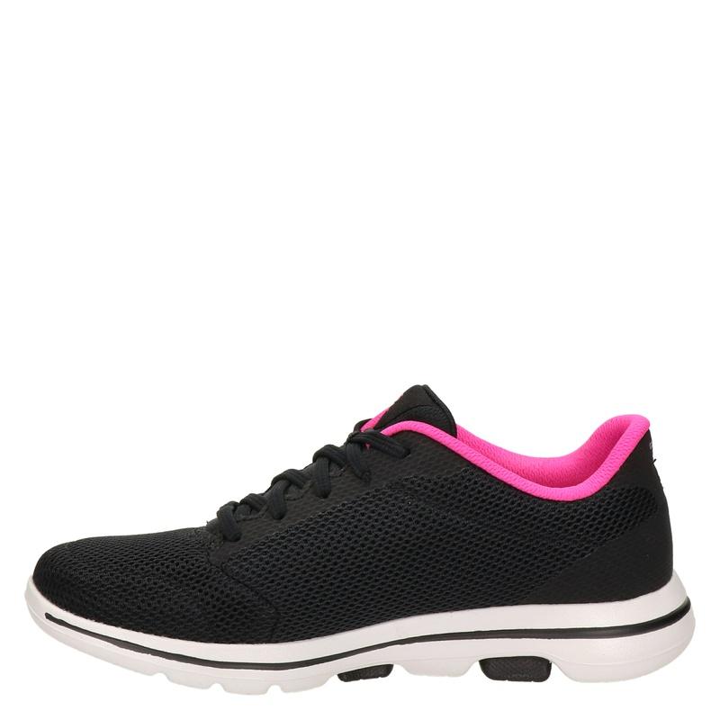 Skechers Go Walk 5 - Lage sneakers - Zwart