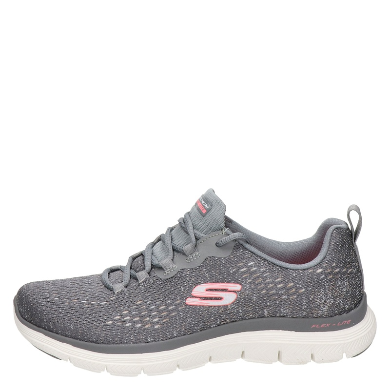Skechers Flex Appeal - Lage sneakers - Grijs