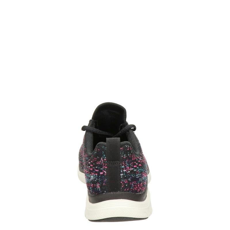 Skechers Flex Appeal - Lage sneakers - Zwart