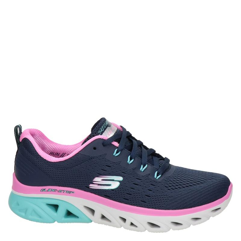 Skechers Glide-Step - Lage sneakers - Blauw