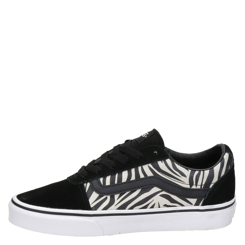 Vans Ward Zebra - Lage sneakers - Zwart