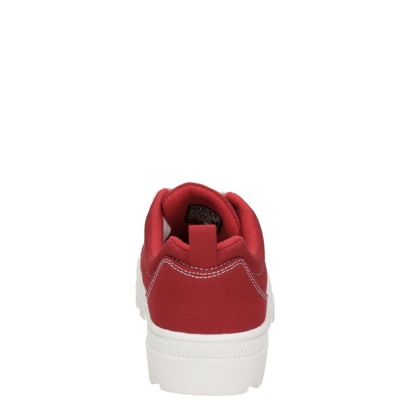Skechers Roadies - Lage sneakers - Rood