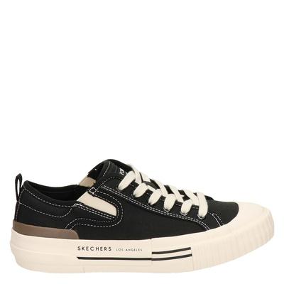 Skechers Street New Moon - Lage sneakers - Zwart