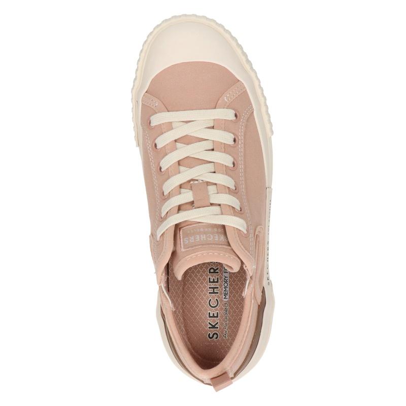 Skechers Street New Moon - Lage sneakers - Roze