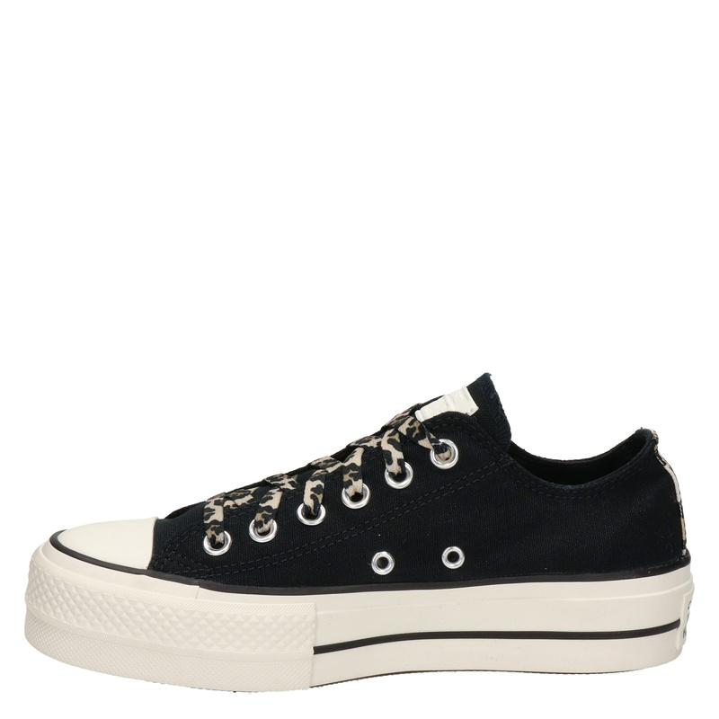 Converse Chuck Taylor All Star - Platform sneakers - Zwart