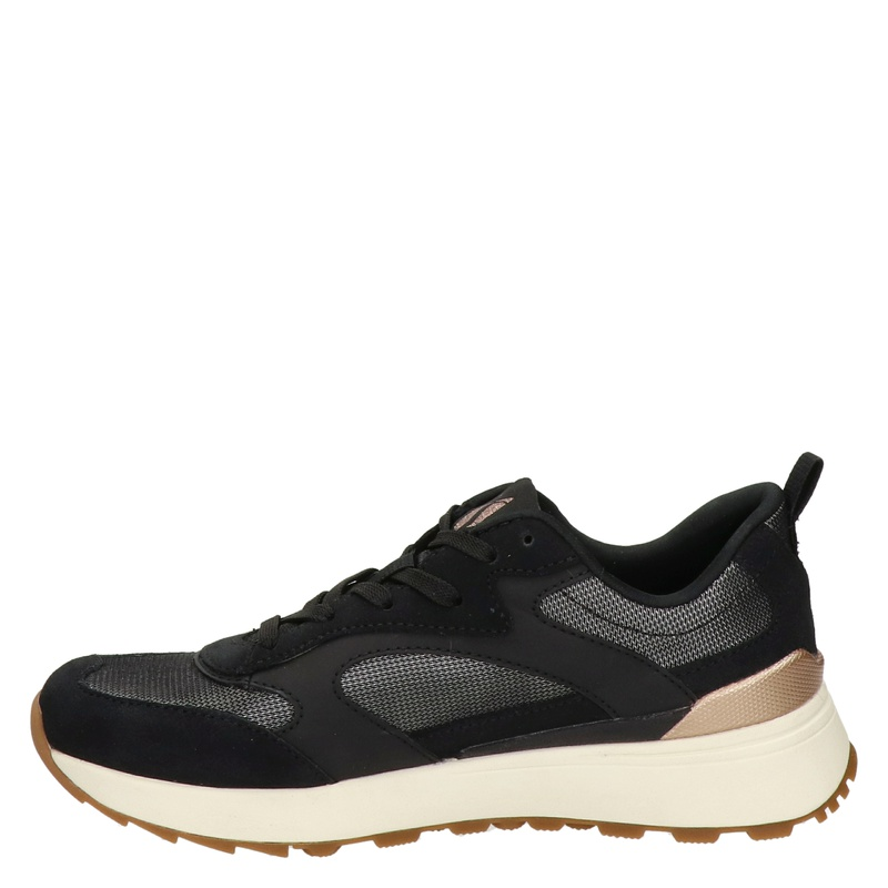 Skechers Street Sunny Feet - Lage sneakers - Zwart