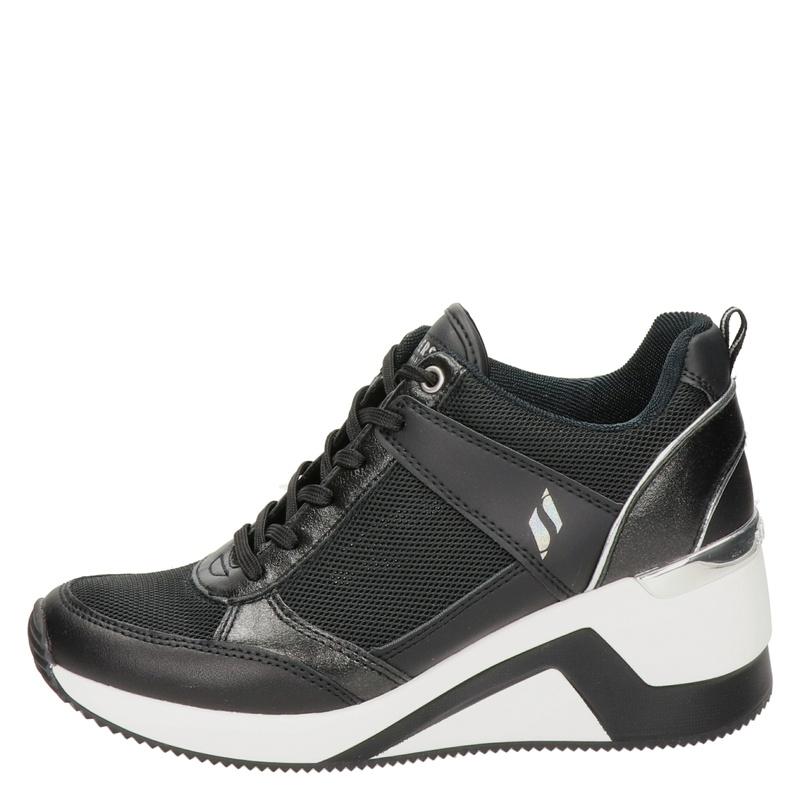 Skechers Street Million - Lage sneakers - Zwart