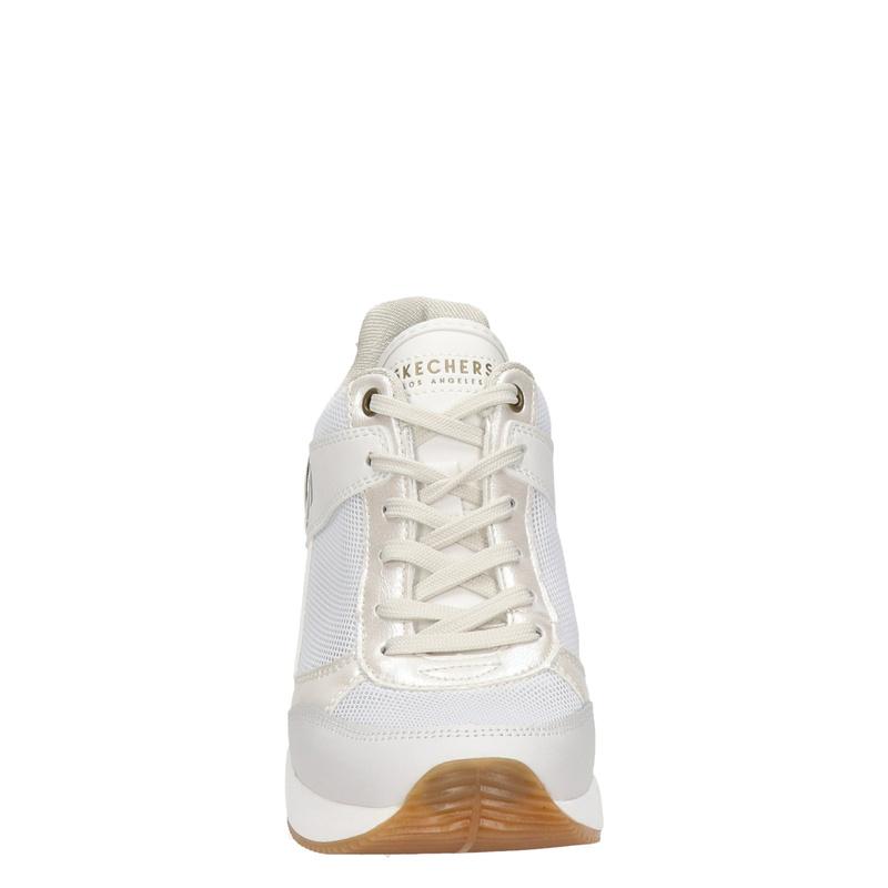 Skechers Street Million - Lage sneakers - Wit