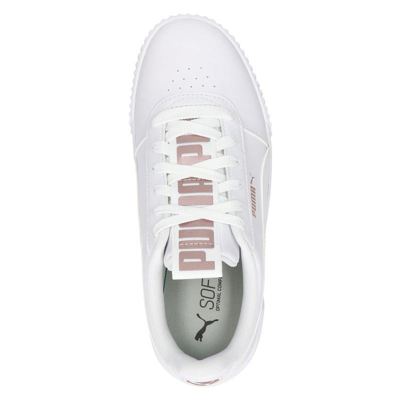 Puma Carina Bold Metallic - Lage sneakers - Wit