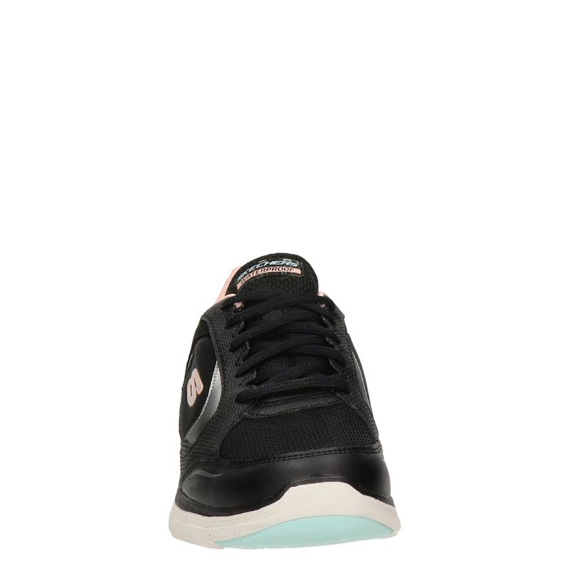 Skechers Flex Appeal 4.0 - Lage sneakers - Zwart