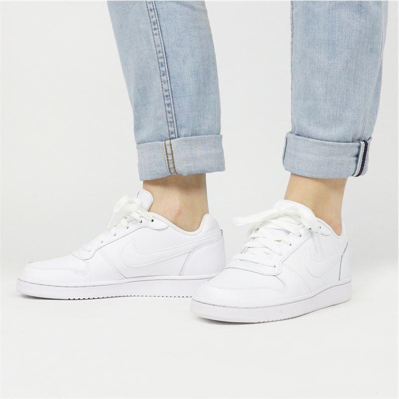 Nike Ebernon low - Lage sneakers - Wit