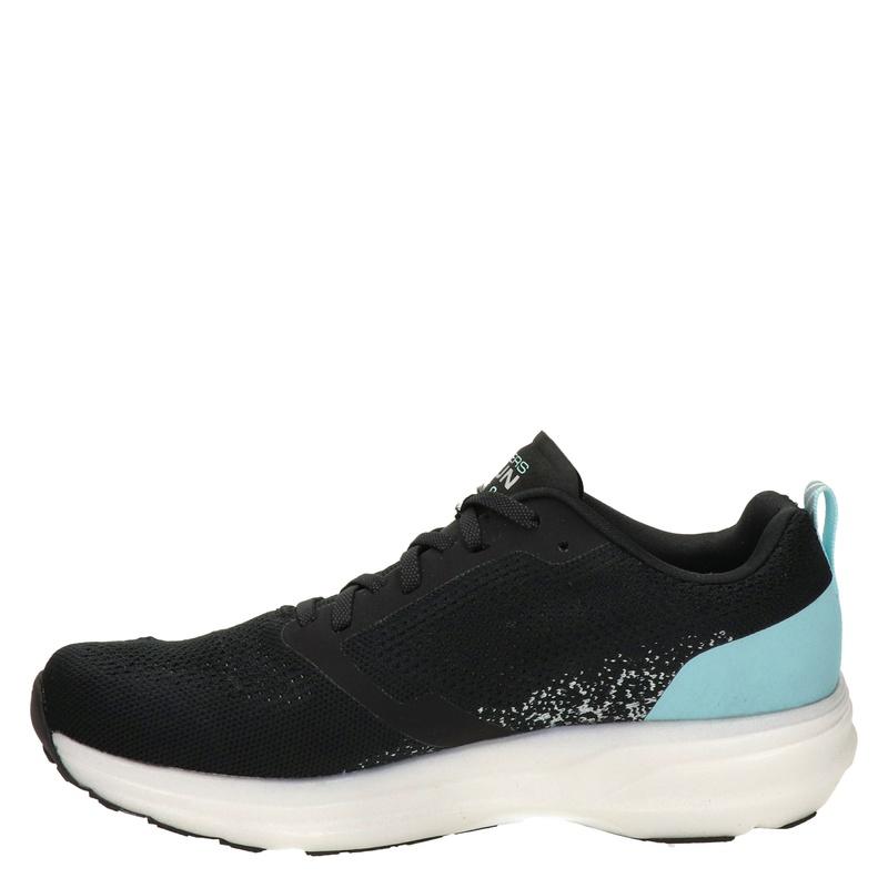 Skechers Go run ride 8 - Lage sneakers - Zwart