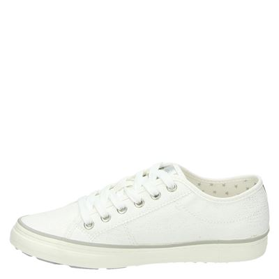 S.Oliver dames lage sneakers Wit