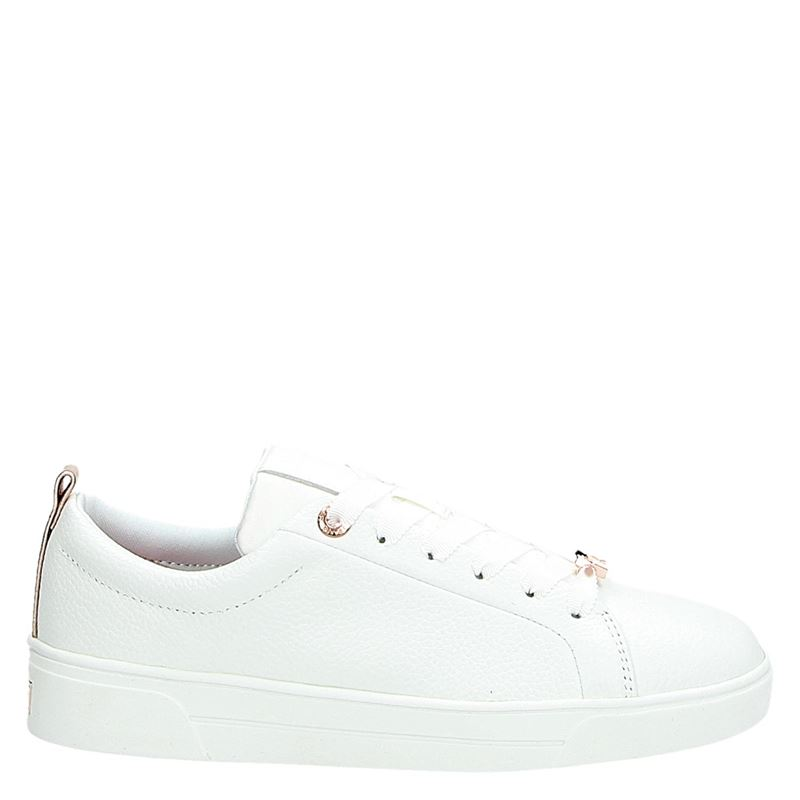 Ted Baker Giellie white leathe - Lage sneakers - Wit