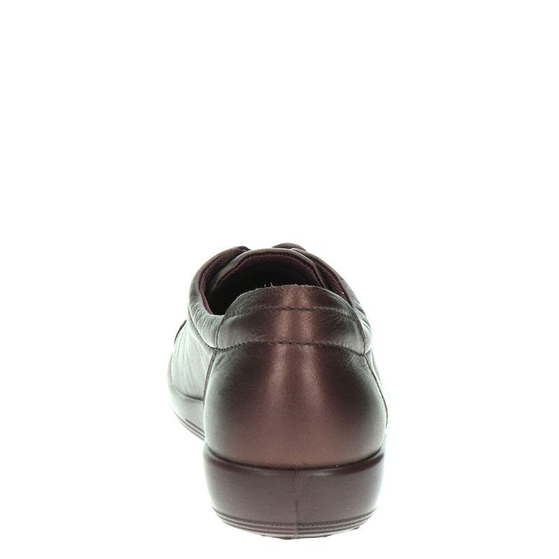 Ecco Soft 2.0 - Veterschoenen - Paars