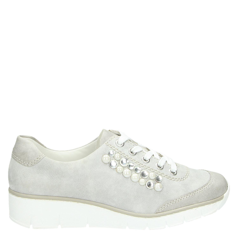 Lage Rieker Lage Dames Grijs Sneakers Sneakers Rieker Dames fZdq4xf