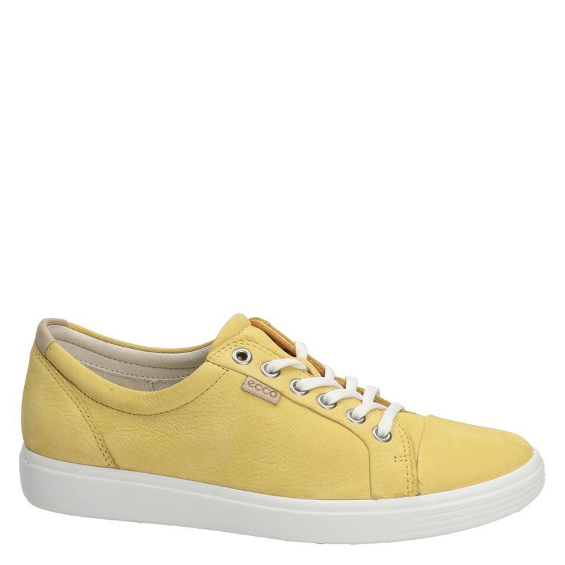 Ecco Soft 7 - Lage sneakers - Geel