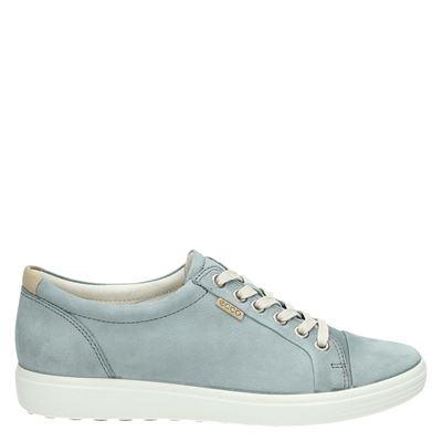 Ecco dames sneakers blauw