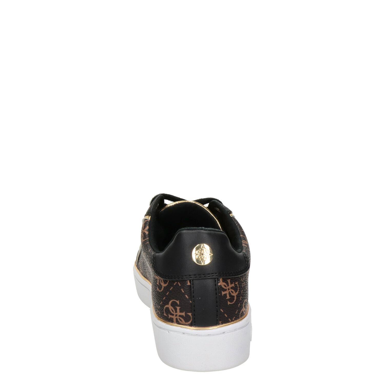 Guess dames lage sneakers bruin