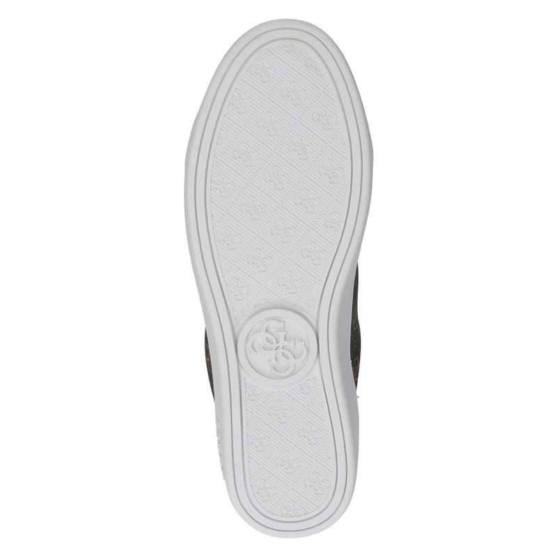 Guess - Lage sneakers - Bruin