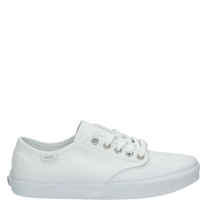 Vans Camdenstripe dames lage sneakers wit