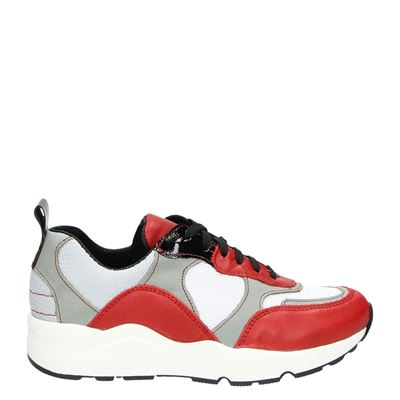 PS Poelman dames sneakers rood