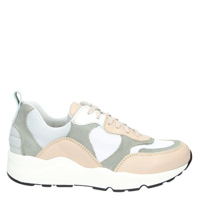 PS Poelman dames sneakers beige