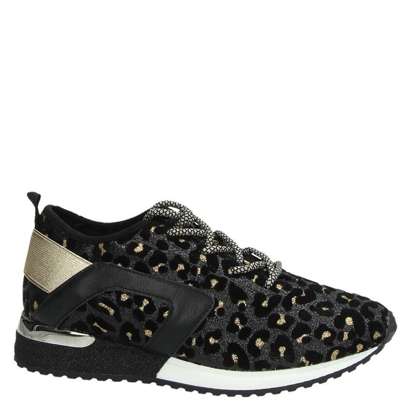 La Strada - Lage sneakers - Bruin