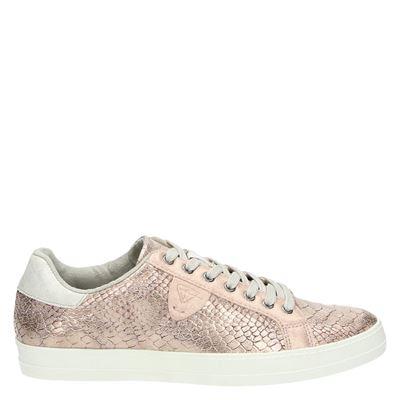 Tamaris dames veterschoenen roze
